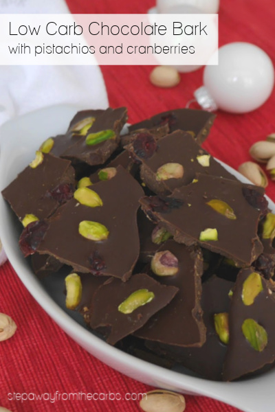 Low Carb Chocolate Bark