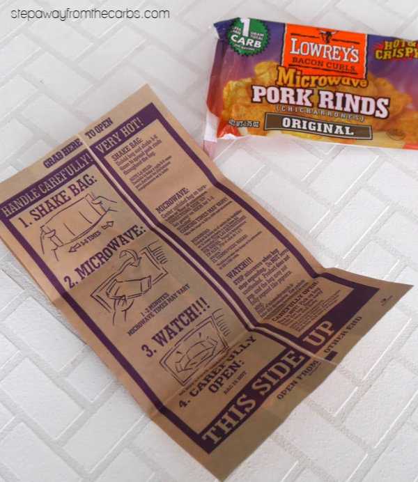 Zero Carb Sweet Pork Rinds - a sugar free and keto friendly snack or sweet treat!