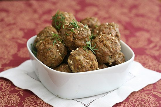 Spicy Lamb Tandoori Meatballs from All Day I Dream About Food