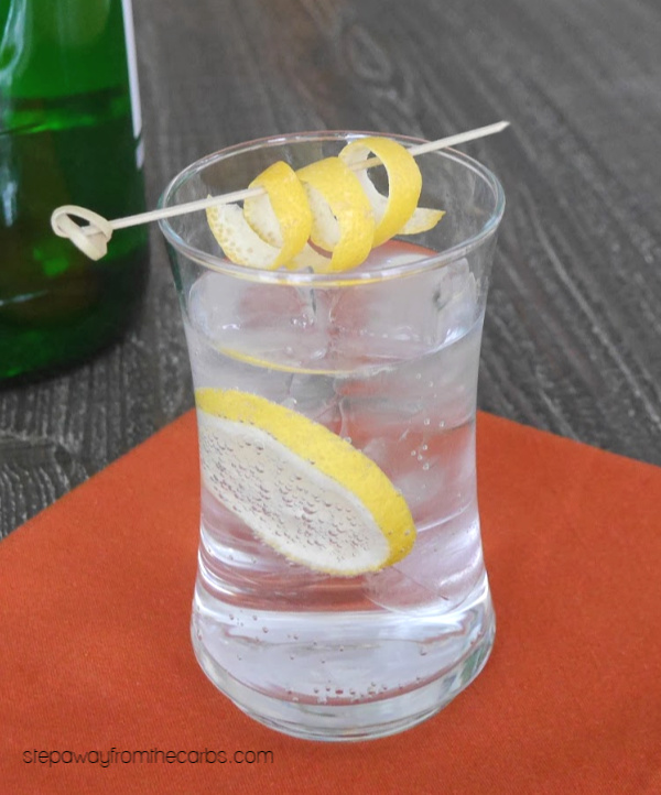 Low Carb Gin and Tonic