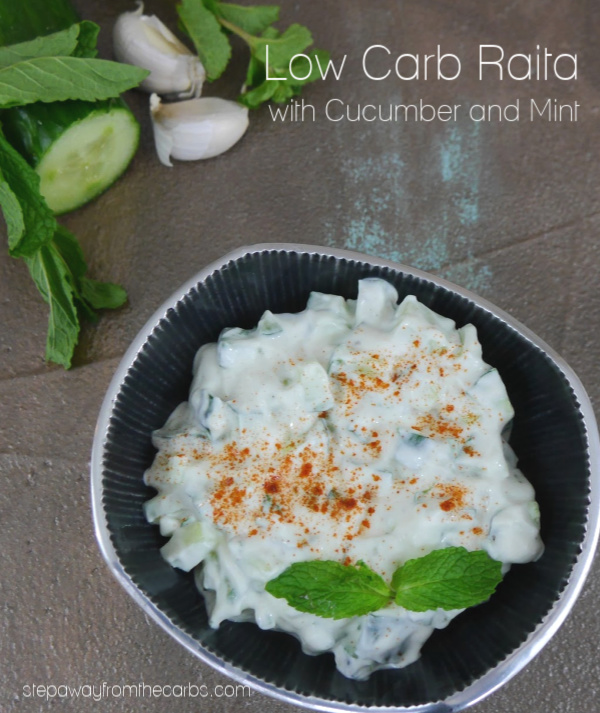 Low Carb Raita