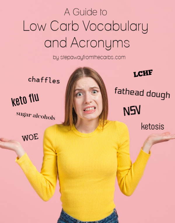 Low Carb Vocabulary and Acronyms