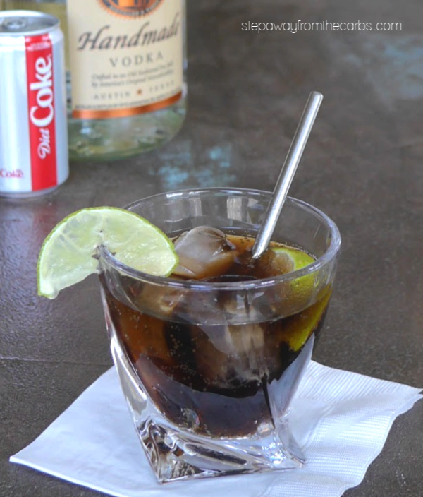 Vodka and Diet Coke