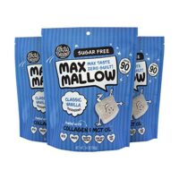 Know Brainer Max Mallow Classic Vanilla   Pack of 3