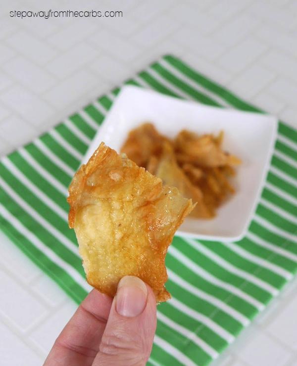 Chicken Skin Chips - zero carb recipe