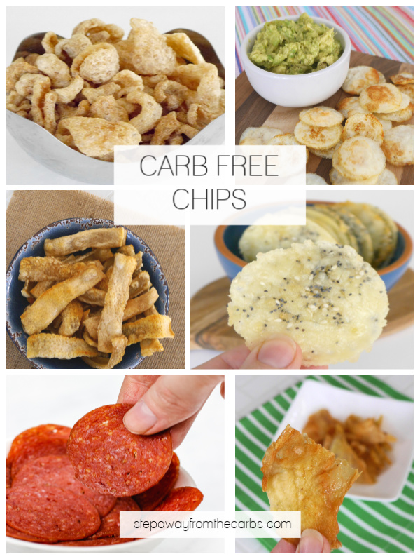 Carb Free Chips - perfect for keto and zero carb snacking!