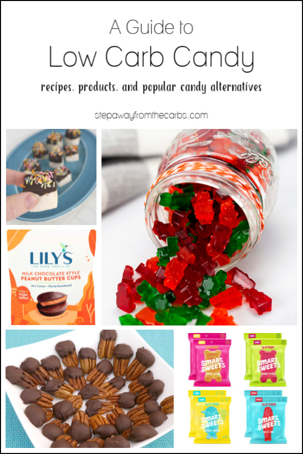 A Guide to Low Carb Candy - recipes, products, and popular candy alternatives