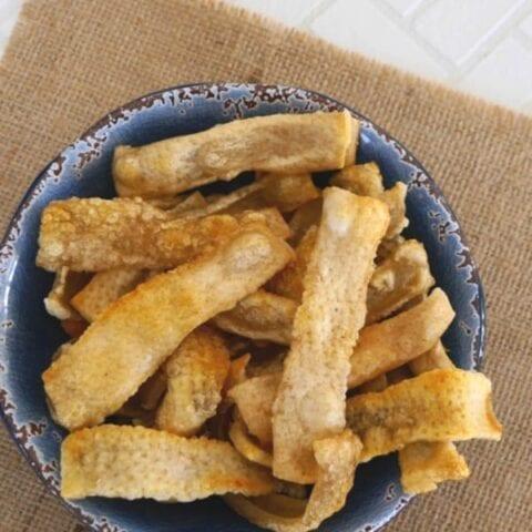 Homemade Pork Rind Chips