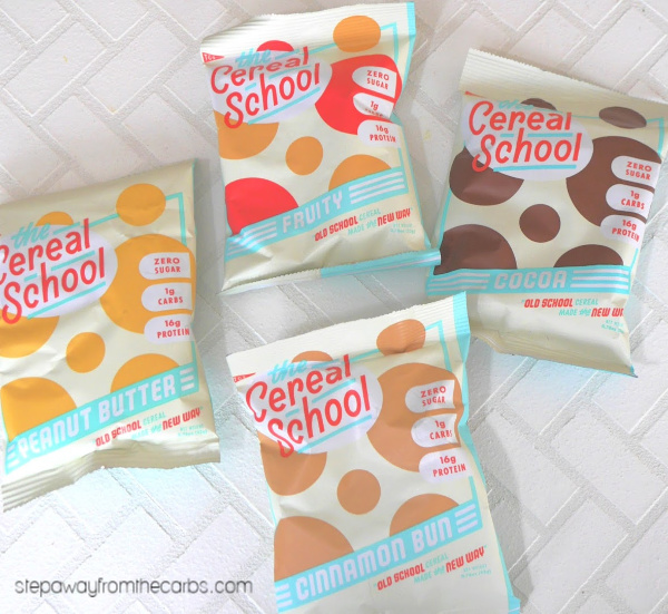 Low Carb Cereal from The Cereal School - a review
