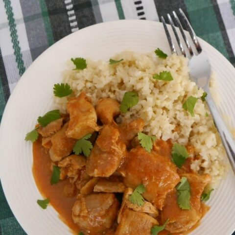 Low Carb Chicken Tikka Masala