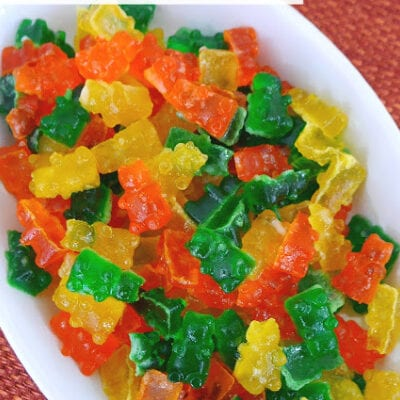 Low Carb Sour Gummy Bears