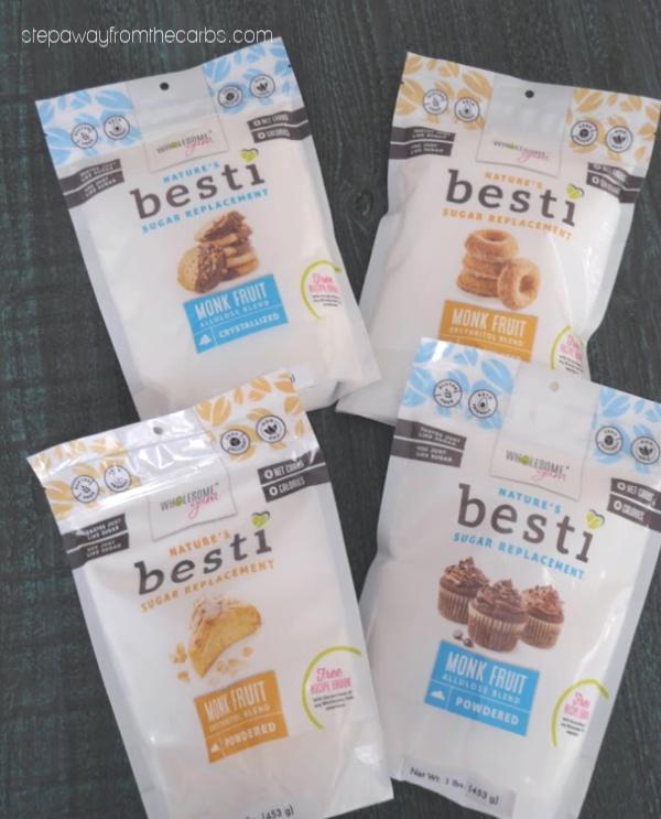 New Besti All Natural Sweeteners