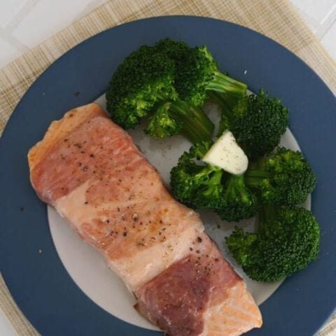 Prosciutto Wrapped Salmon