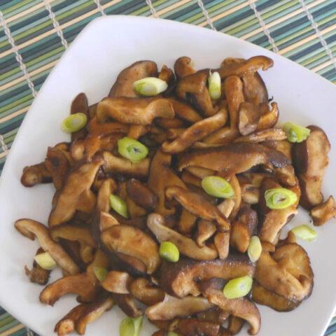 Wasabi Soy Shiitake Mushrooms