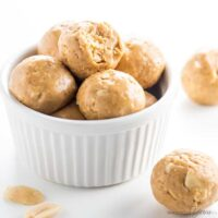 Keto Low Carb Peanut Butter Protein Balls Recipe
