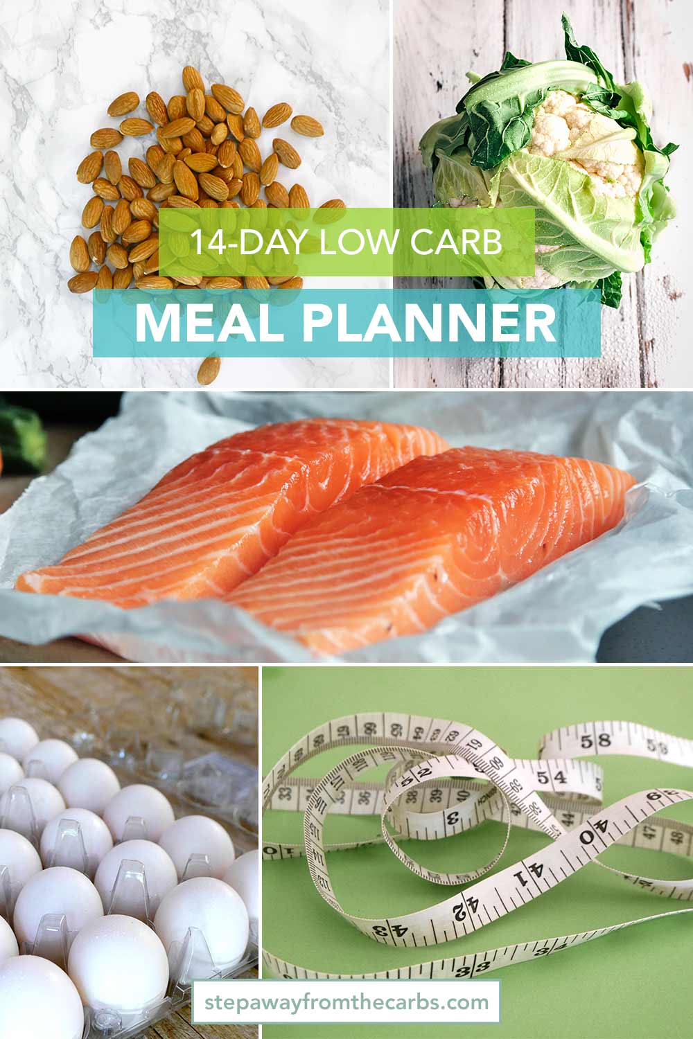 14 Day Low Carb Meal Planner - download today!