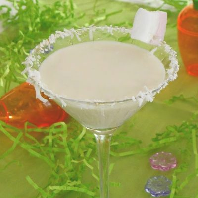 Low Carb Cottontail Martini