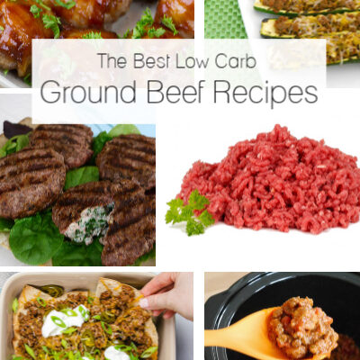 The Best Low Carb Ground Beef Recipes