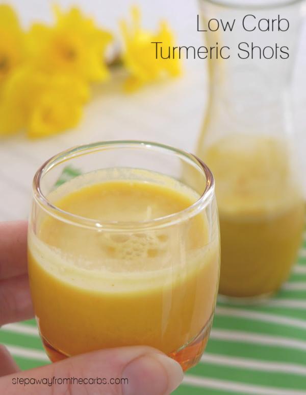 Low Carb Turmeric Shots
