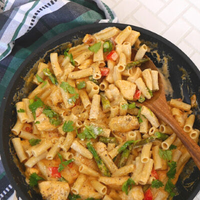 Low Carb Chicken Chipotle Pasta