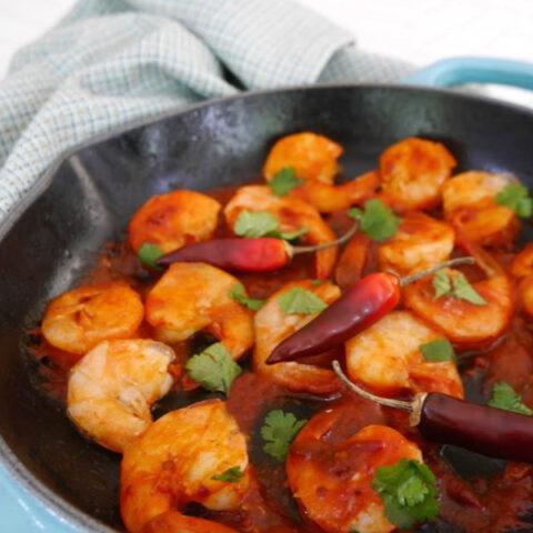 Low Carb Spicy Chipotle Shrimp