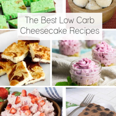 The Best Low Carb Cheesecake Recipes