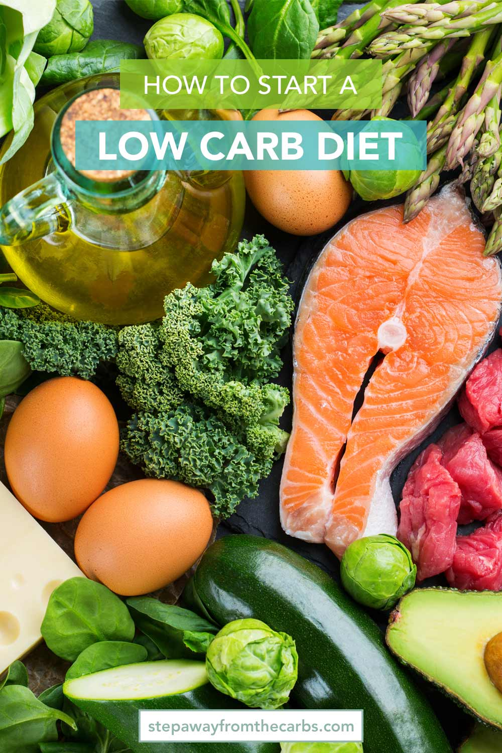 How to Start A Low Carb Diet - all the information that you need when you are just starting this way of eating!