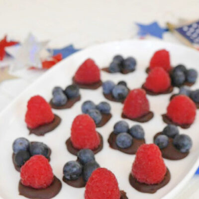 Low Carb Berry Chocolate Bites