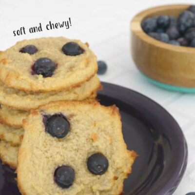Low Carb Blueberry Cookies