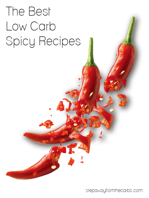 The Best Low Carb Spicy Recipes - over 30 keto and sugar free dishes to try!