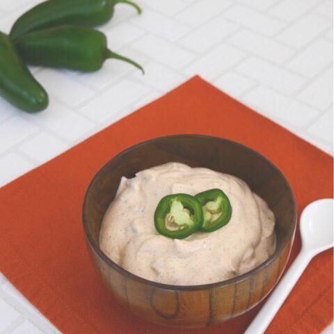 Keto Creamy Jalapeño Sauce