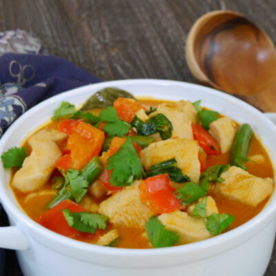 Low Carb Thai Red Curry