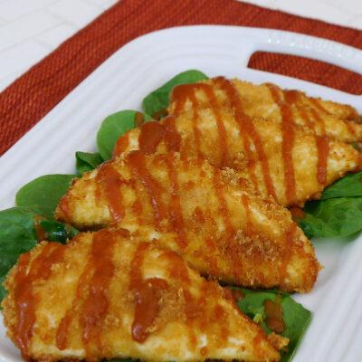 Low Carb Chicken Katsu