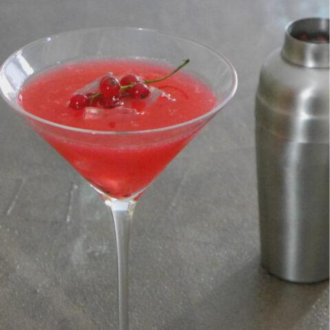 Low Carb Redcurrant Margarita