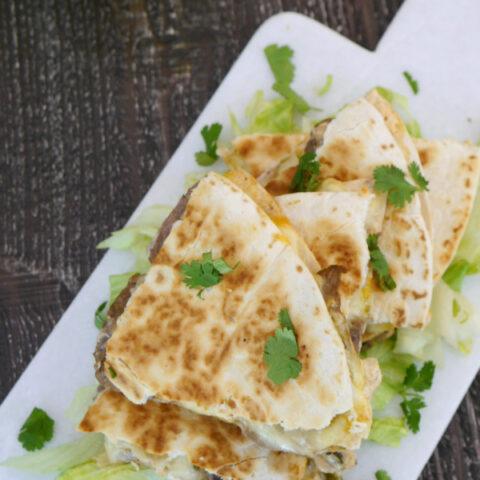 Low Carb Steak Quesadilla - Taco Bell Copycat