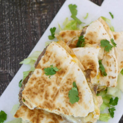 Low Carb Steak Quesadilla – Taco Bell Copycat