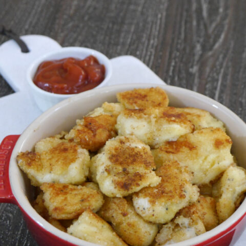 Low Carb Fried Cheese Curds
