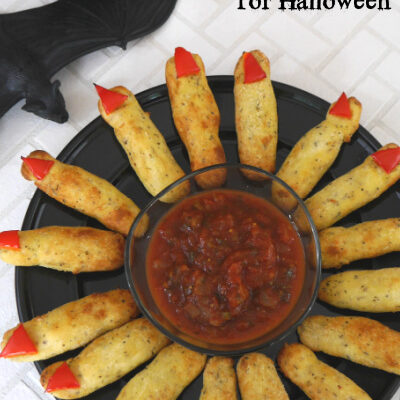 Low Carb Witch Fingers for Halloween