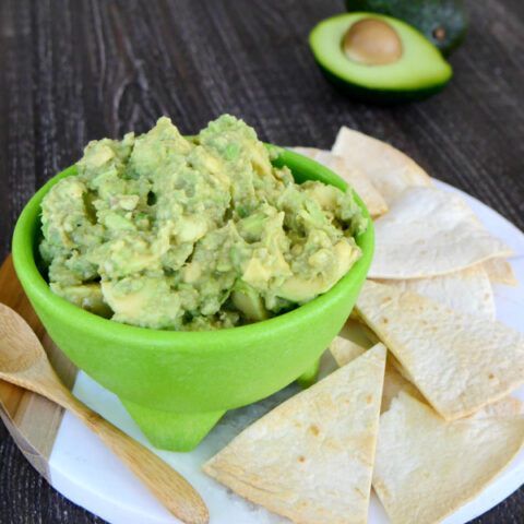 Low Carb Chunky Guacamole with Cumin