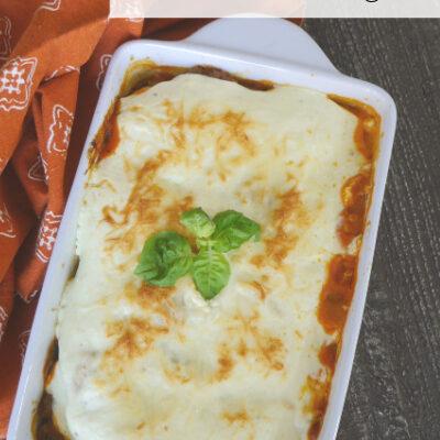 Low Carb Fathead Lasagna