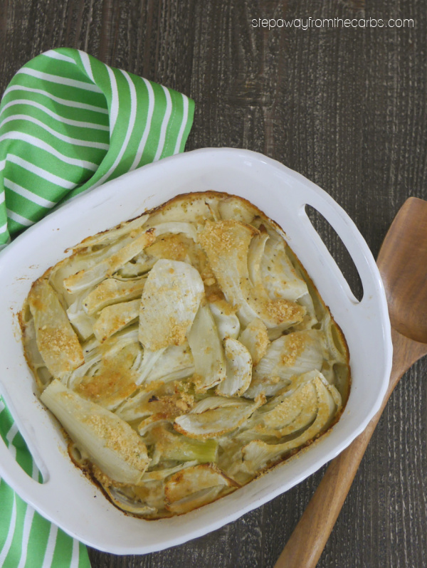 Roasted Creamy Fennel - a delicious and comforting side dish for a cold day!