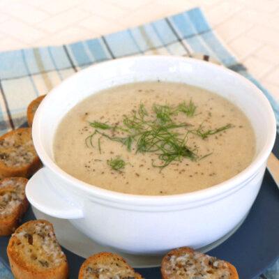 Cauliflower Fennel Soup