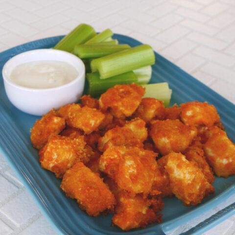 Keto Buffalo Chicken Nuggets