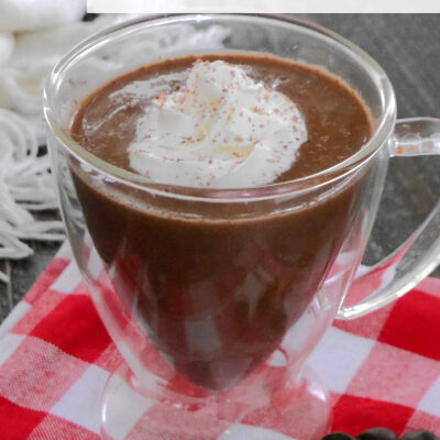 Low Carb Nutella Hot Chocolate