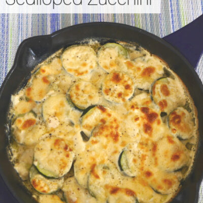 Low Carb Scalloped Zucchini