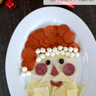 Santa Snack Platter