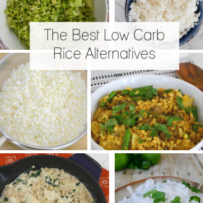 The Best Low Carb Rice Alternatives