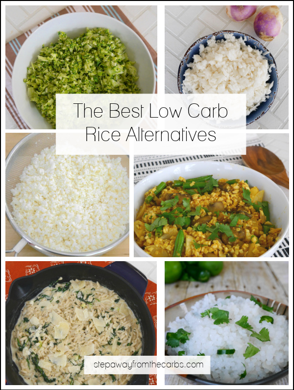 Low Carb Rice Alternatives