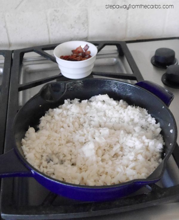 How to Make Turnip Rice - a tasty low carb alternative that isn't cauliflower!