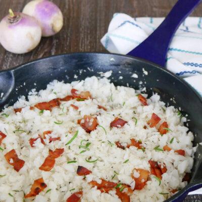 How to Make Turnip Rice